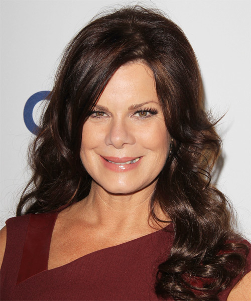 Marcia Gay Harden Long Wavy Casual   Hairstyle
