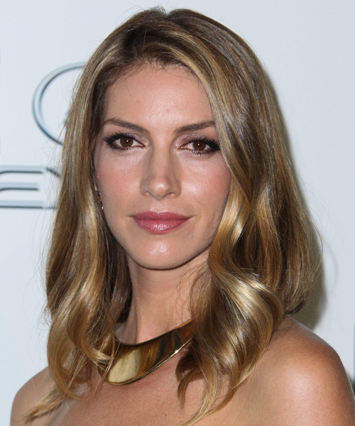 Dawn Olivieri Medium Straight Casual    Hairstyle