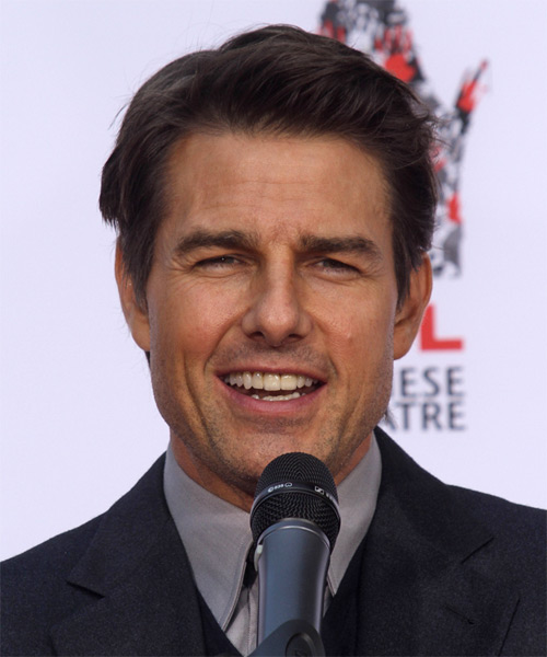 Tom Cruise Short Straight Casual   Hairstyle