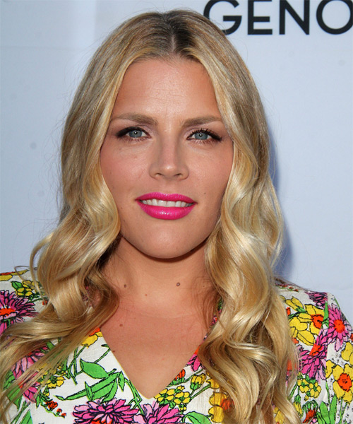 Busy Philipps Long Wavy Casual   Hairstyle   - Medium Blonde (Golden)