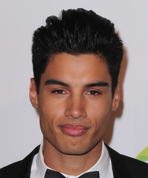 Siva Kaneswaran Short Straight Formal   Hairstyle   - Black