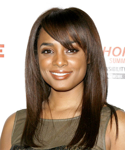Alicia Renee Long Straight Casual    Hairstyle