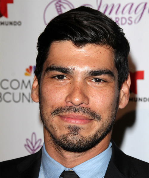 Raul Castillo Short Straight Formal   Hairstyle   - Black