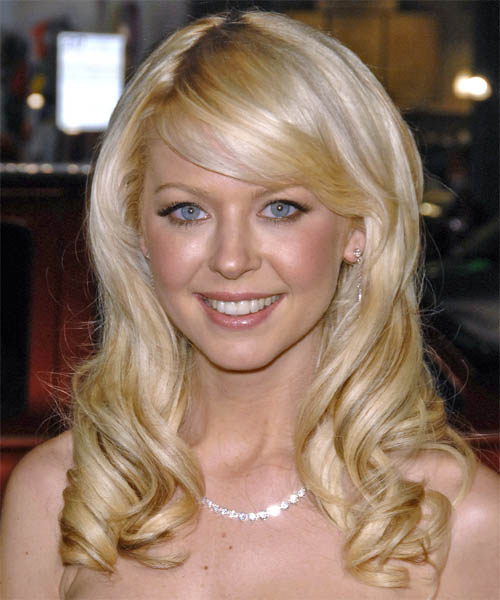 Tara Reid Long Wavy Formal   Hairstyle