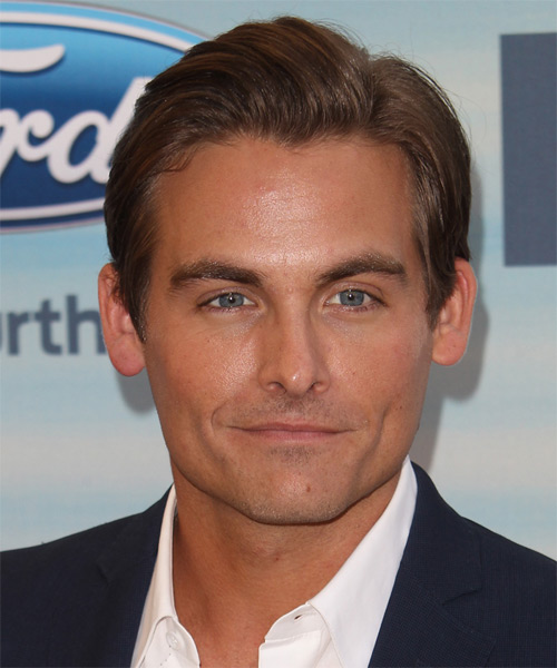 Kevin Zegers Short Straight Formal   Hairstyle   - Medium Brunette