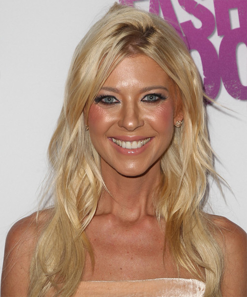 Tara Reid Long Straight   Light Honey Blonde   Hairstyle