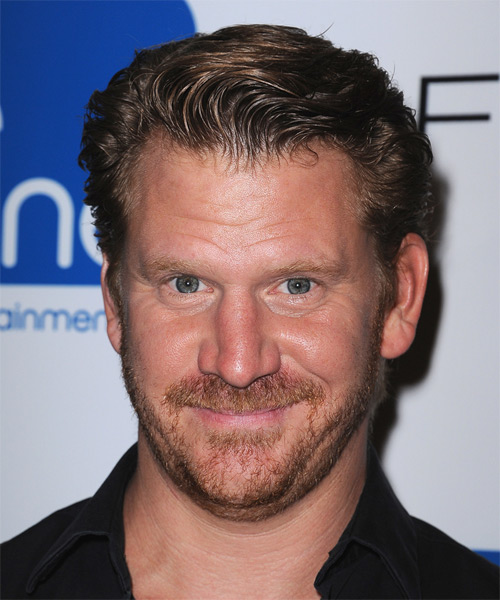 Dash Mihok Short Straight Formal   Hairstyle   - Dark Brunette