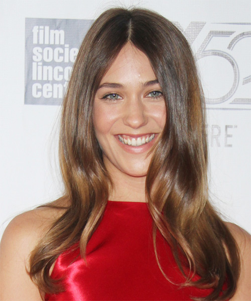 Lola Kirke Long Straight Casual   Hairstyle   - Medium Brunette