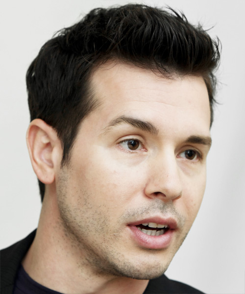 Jon Seda Short Straight Formal   Hairstyle   - Side View