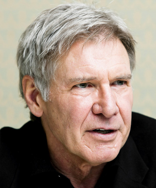 Harrison Ford Short Straight Casual   Hairstyle   - Side View