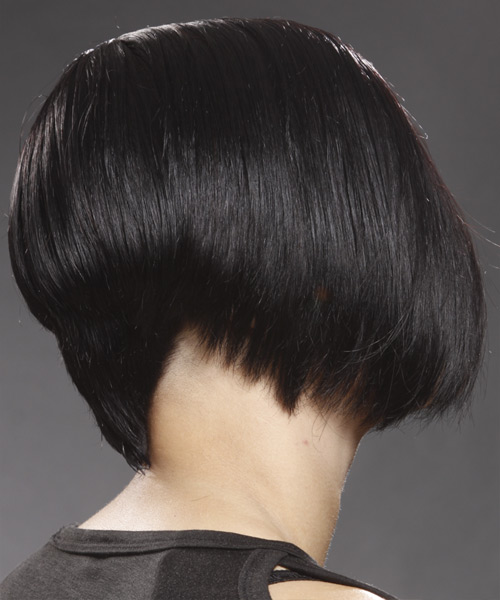 Medium Straight     Hairstyle   - Side View