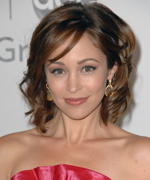 Autumn Reeser Medium Wavy Formal   Hairstyle   - Side View