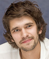 Ben Whishaw Medium Wavy Casual    Hairstyle
