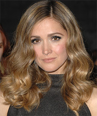 Rose Byrne Long Wavy Formal    Hairstyle