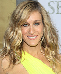 Sarah Jessica Parker Long Wavy Casual    Hairstyle