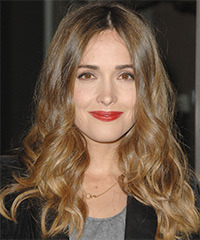 Rose Byrne Long Wavy Casual    Hairstyle