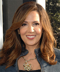 Maria Canals Berrera Long Wavy Casual    Hairstyle