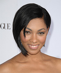 Bria Murphy Short Straight Formal    Hairstyle