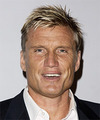 Dolph Lundgren Short Straight Formal    Hairstyle   -  Blonde Hair Color