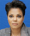 Janet Jackson      Black  Pixie  Cut
