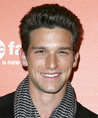 Daren Kagasoff Short Straight Casual    Hairstyle   - Black  Hair Color