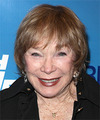 Shirley Maclaine Short Straight   Light Copper Red   Hairstyle with Layered Bangs