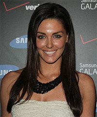 Taylor Cole Long Straight Casual    Hairstyle   - Black  Hair Color
