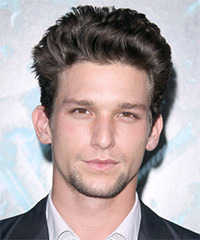 Daren Kagasoff  Short Straight Casual    Hairstyle   -  Ash Brunette Hair Color