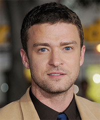 Justin Timberlake Short Straight Casual    Hairstyle   -  Ash Brunette Hair Color