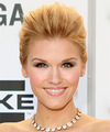 Emily Rose  Long Straight Formal   Updo Hairstyle   -  Golden Blonde Hair Color with Light Blonde Highlights