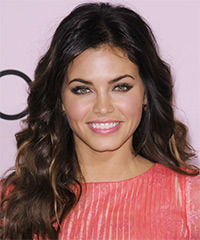 Jenna Dewan Long Wavy Casual    Hairstyle   with Dark Blonde Highlights