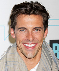 Madison Hildebrand  Short Straight Casual    Hairstyle   -  Brunette Hair Color