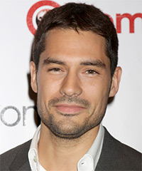 D.J. Cotrona Short Straight Casual    Hairstyle   -  Brunette Hair Color