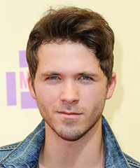 Stephen Lunsford Short Straight Casual    Hairstyle   -  Ash Brunette Hair Color