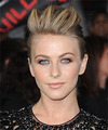 Julianne Hough  Long Straight Casual   Updo Hairstyle   - Dark Blonde and Light Blonde Two-Tone Hair Color