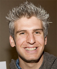Max Joseph Short Straight Casual    Hairstyle   -  Grey Hair Color