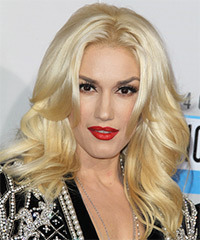 Gwen Stefani Long Straight Formal    Hairstyle   - Light Blonde Hair Color