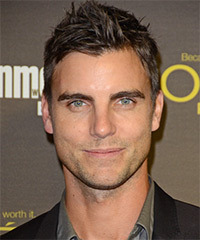Colin Egglesfield Short Straight Casual    Hairstyle   -  Brunette Hair Color