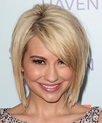 Chelsea Kane Short Straight Casual Layered Bob  Hairstyle