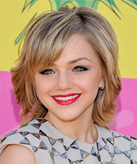 Oana Gregory Short Straight Formal    Hairstyle