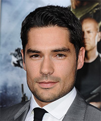 DJ Cotrona Short Straight Formal    Hairstyle