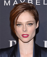 Coco Rocha Short Straight Casual    Hairstyle