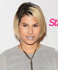Michelle Ojeda Short Straight Casual    Hairstyle