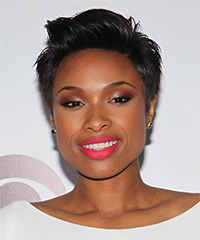 Jennifer Hudson Short Straight Casual    Hairstyle