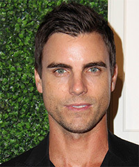 Colin Egglesfield Short Straight Casual    Hairstyle   - Dark Brunette Hair Color