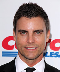Colin Egglesfield Short Straight Casual    Hairstyle   - Dark Mocha Brunette Hair Color