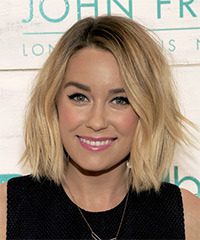 Lauren Conrad Medium Straight Casual    Hairstyle   -  Blonde Hair Color