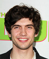 Carter Jenkins Medium Wavy Casual    Hairstyle   - Dark Brunette Hair Color