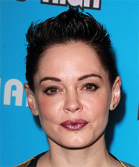 Rose McGowan Short Straight Casual    Hairstyle