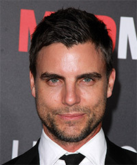 Colin Egglesfield Short Straight Casual    Hairstyle   - Black  Hair Color